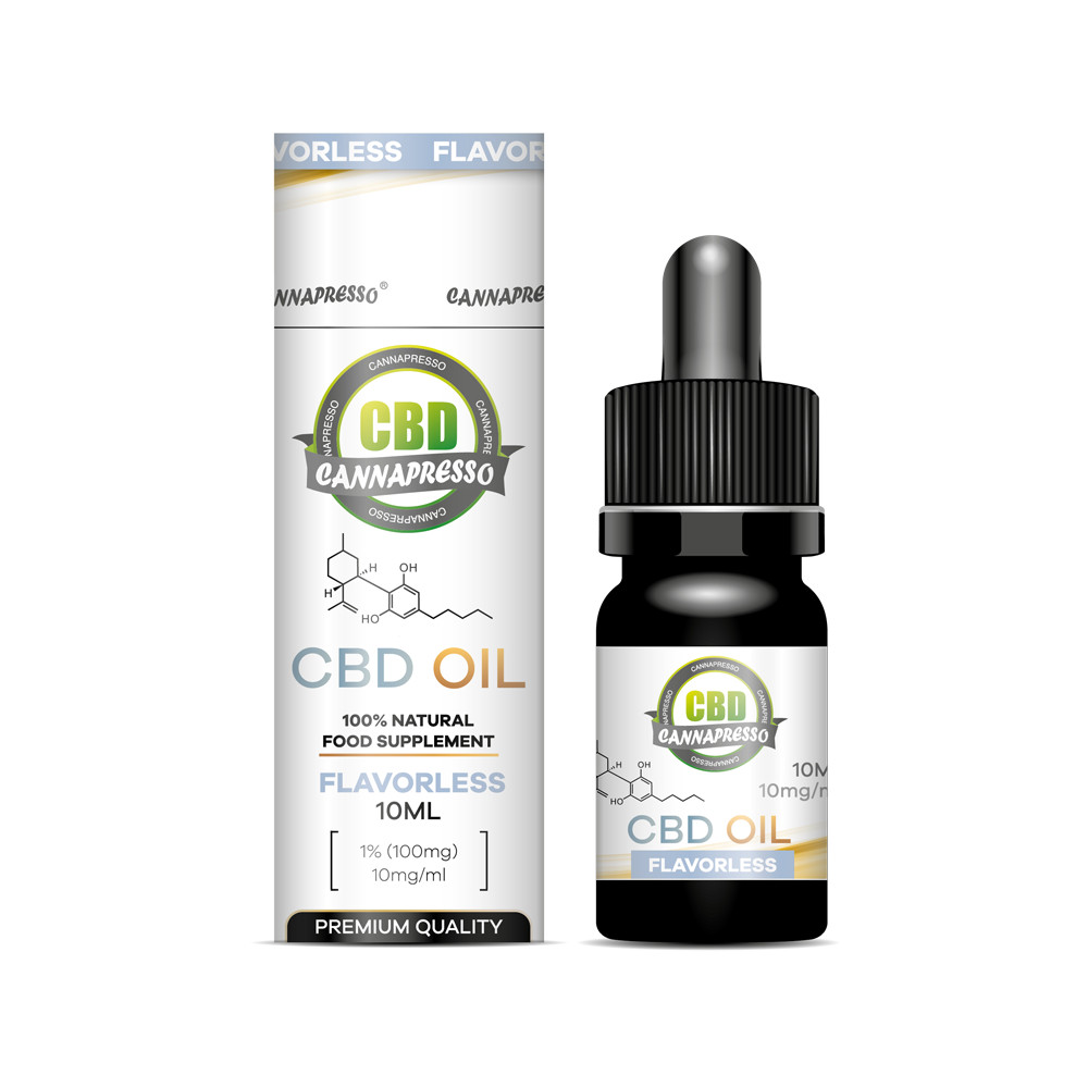 10ml 100mg CBD oil tincture Featured Image