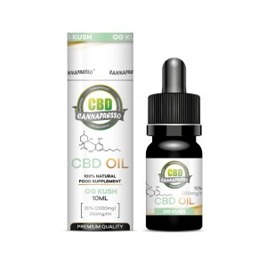 10ml 2000mg CBD oil tincture