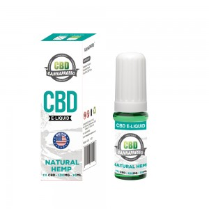 100 mg CBD 10ml CBD vape öljy