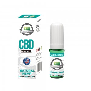 CANNAPRESSO CBD E 300mg נוזלי שמן vape 10ml CBD