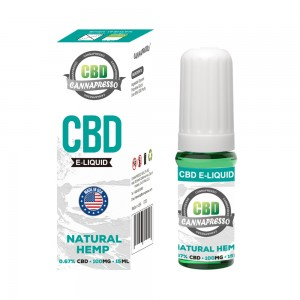 CANNAPRESSO CBD E liquid-100mg CBD 15ml vape oil