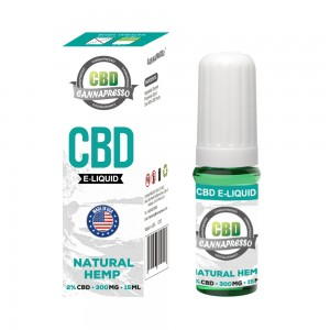 CANNAPRESSO CBD E течност 300mg CBD 15ml vape масло