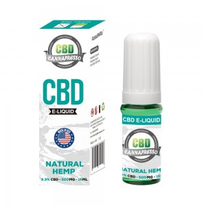 CANNAPRESSO CBD E liquid 500mg CBD 15ml vape oil