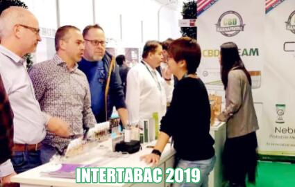 2019 intertabac cannapresso cbd brand