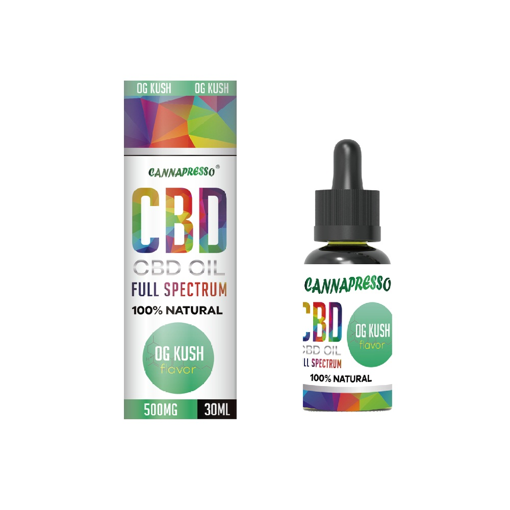 OG Kush Full spectrum CBD oil tincture