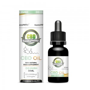 30ml 6000mg CBD oil tincture