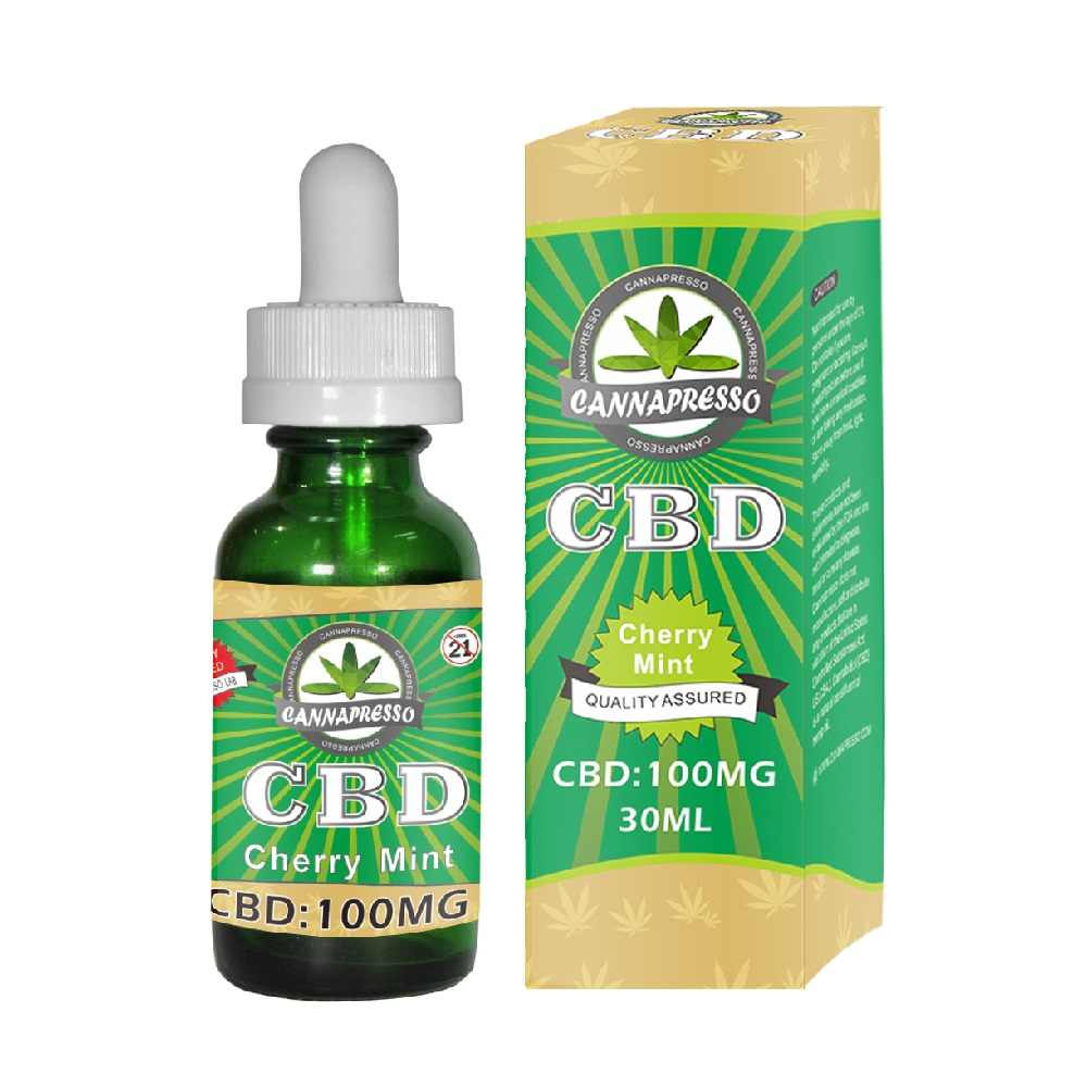 CANNAPRESSO CBD E liquid-100mg CBD 30ml vape oil