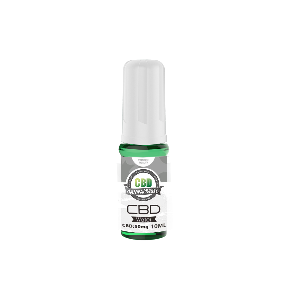 CBD water 10 ml 50mg middestad