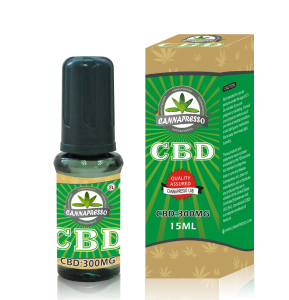 CANNAPRESSO CBD E liquid-300mg CBD 15ml vape oil