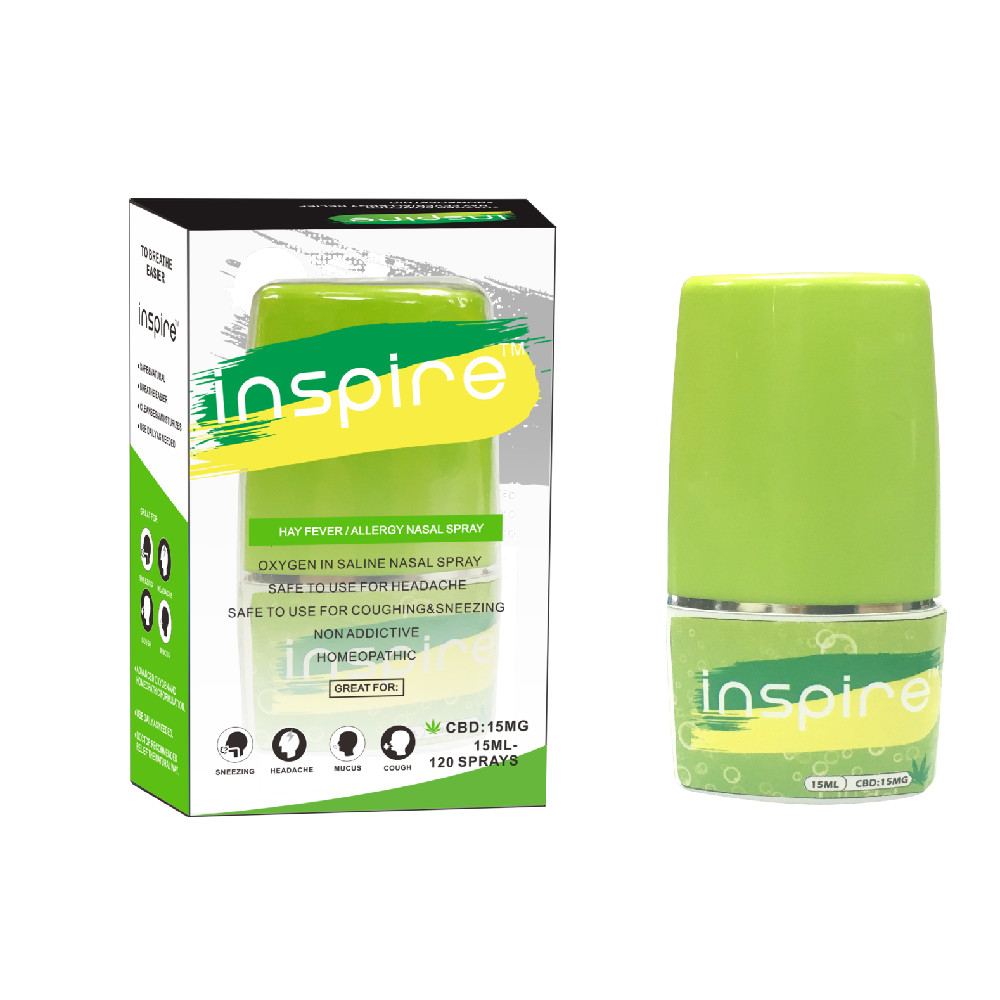 Inspire hay fever/allergy nasal CBD spray