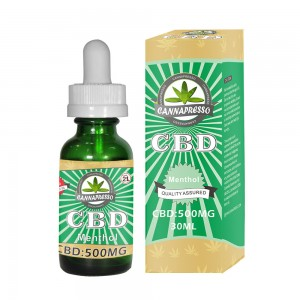 CANNAPRESSO CBD e-liquid 500mg 30ml vape oil