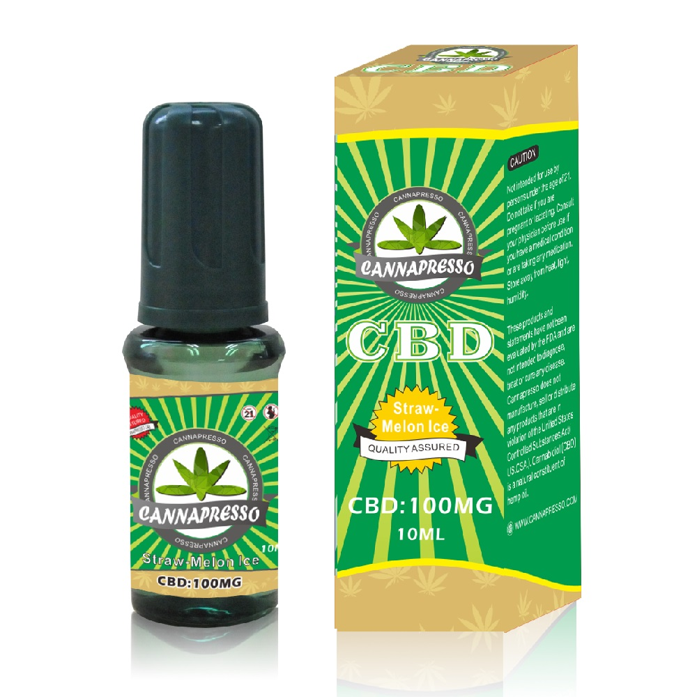 100mg CBD 10ml CBD vape oil