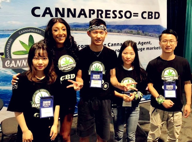 CANNAPRESSO in Champs Las Vegas Summer