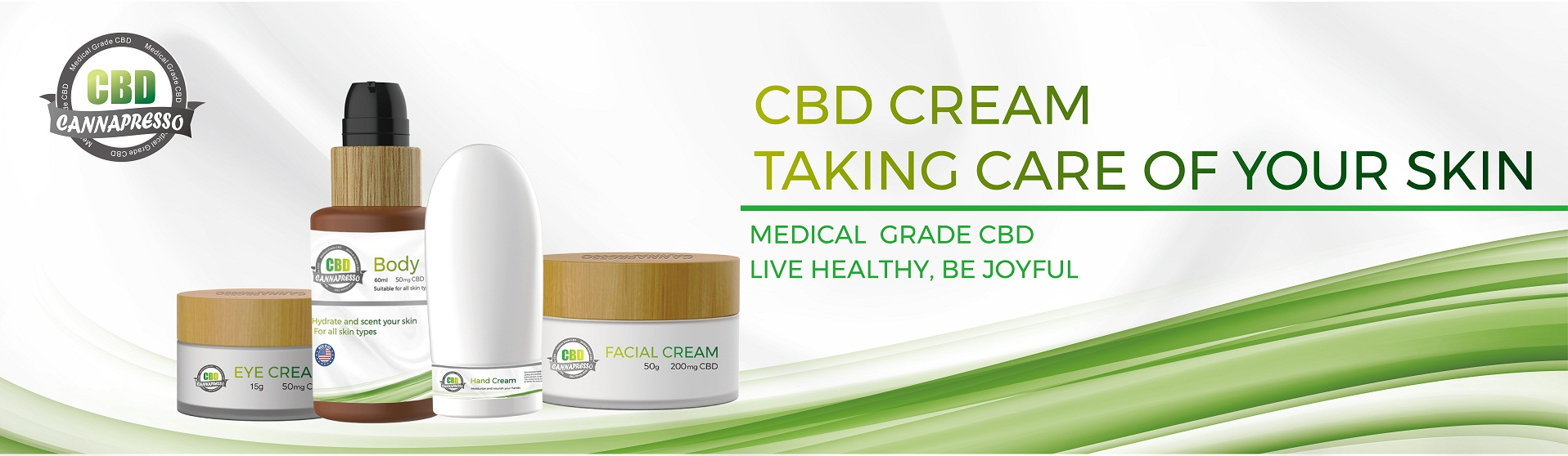 CANNAPRESSO CBD cream cbd lotion