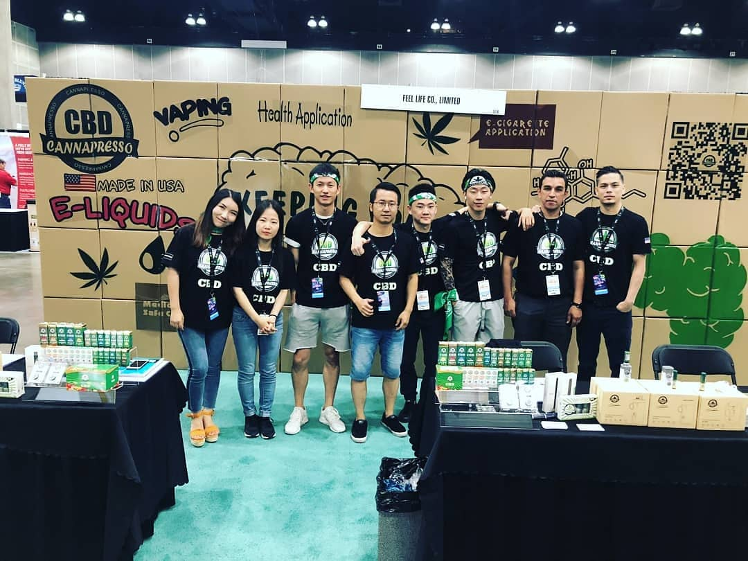 CANNAPRESSO in the Big Industry Show 2018
