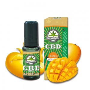 CANNAPRESSO mango CBD E liquid-100mg CBD 15ml vape oil