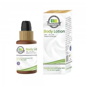 60ml 50mg CBD body lotion