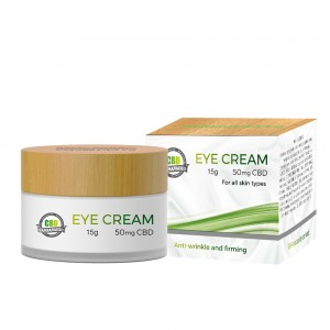 15g 50mg CBD eye cream