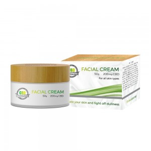 50g 200mg CBD facial cream