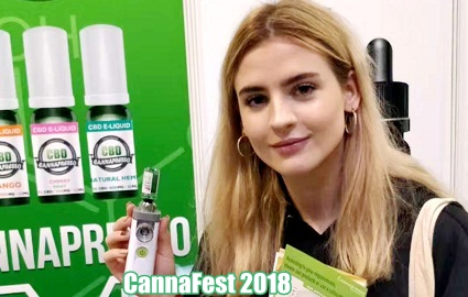 Cannafest 2018 CBD hemp oil eliquid