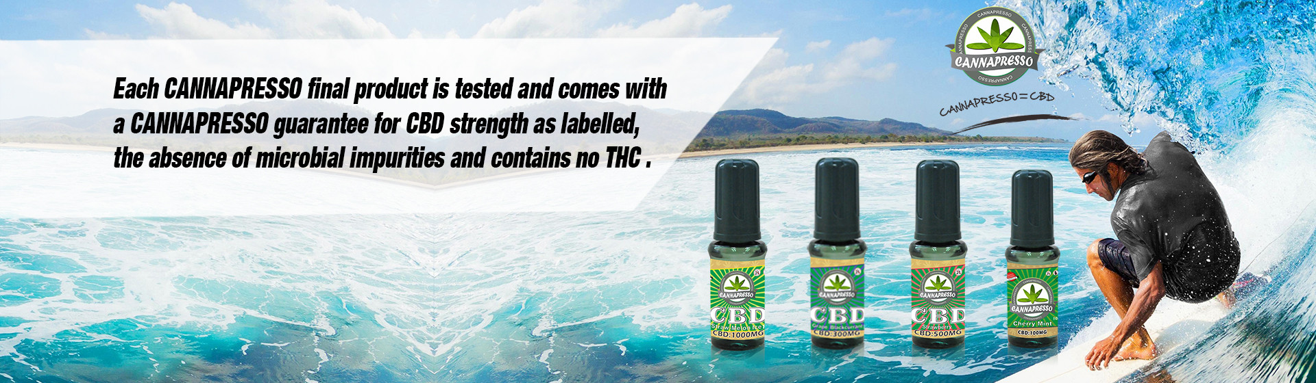 Cannapresso CBD oil vape