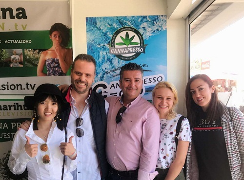 CANNAPRESSO MAKES GREAT SUCCESS IN SPANNABIS