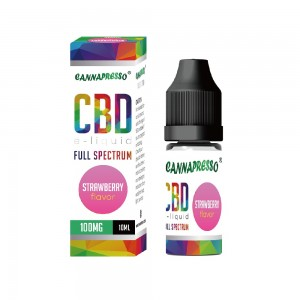 10ml Strawberry full spectrum CBD e-liquid