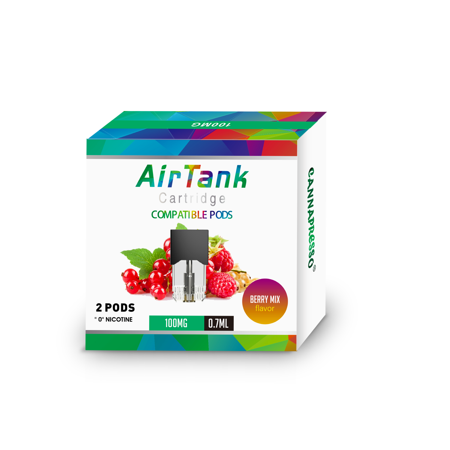 Cannapresso Air Tank CBD pods Featured Image