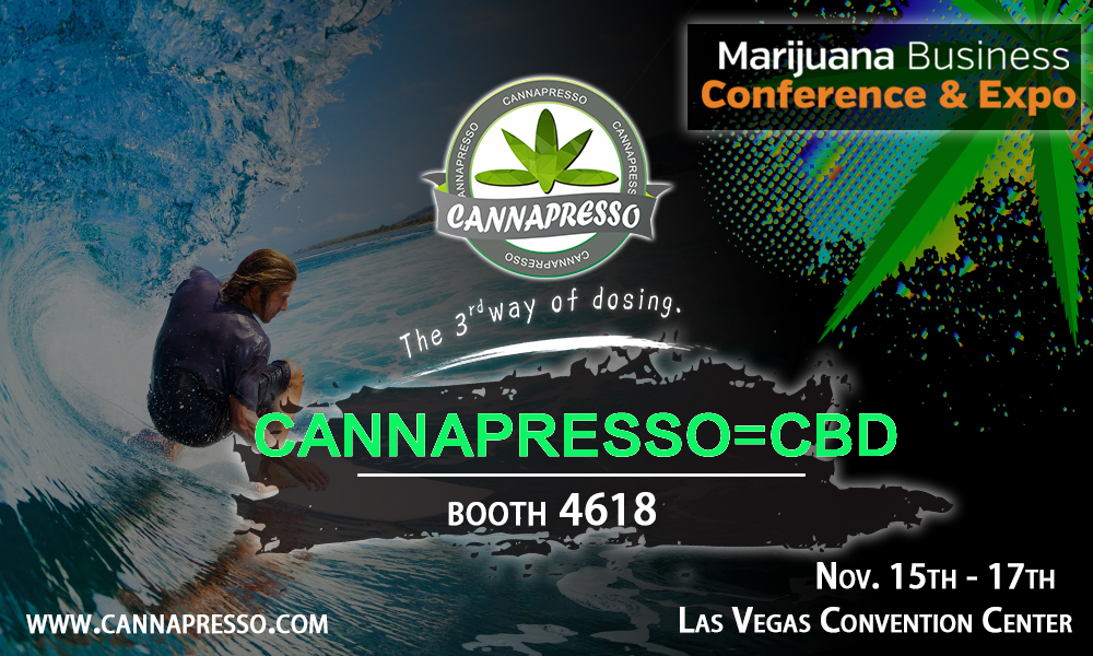 CANNAPRESSO in Marijuana Business Conference &Expo in Nov.15th-17th