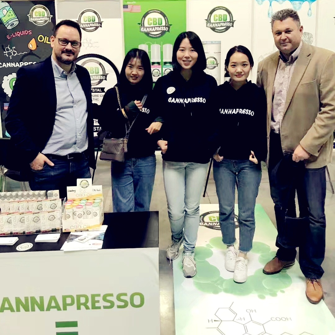 CANNAPRESSO in CannaFest Prague 2018