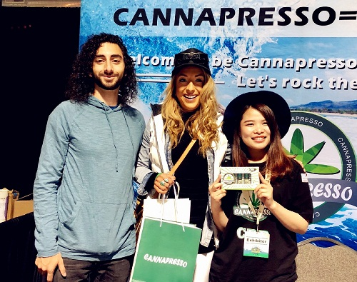 Cannapresso in 5th Noco Hemp Expo