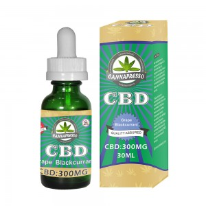 CANNAPRESSO CBD eliquid 300mg 30ml vape oil