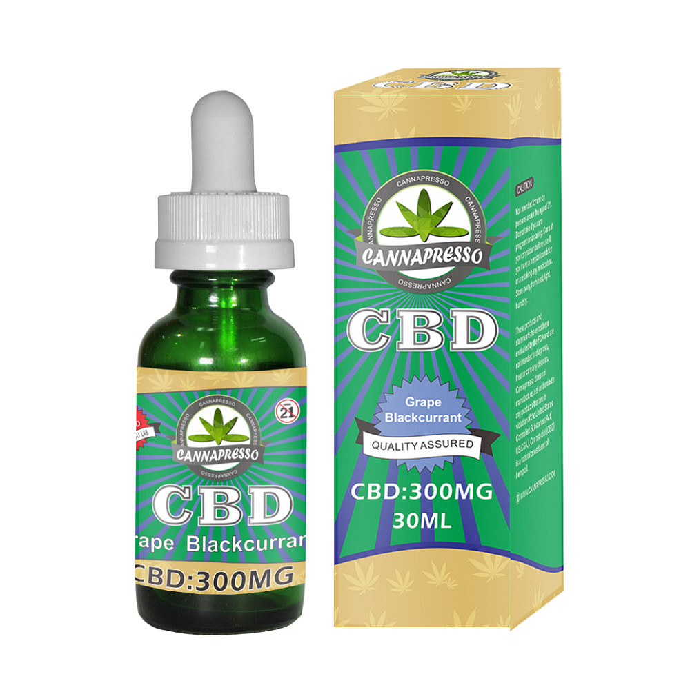 Cannapresso Cbd E Liquid 300mg 30ml Vape Oil Usa