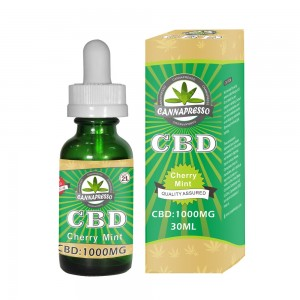 CANNAPRESSO CBD E liquid-1000mg CBD 30ml vape oil