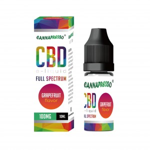 10ml Grape fruit full spectrum CBD e-liquid
