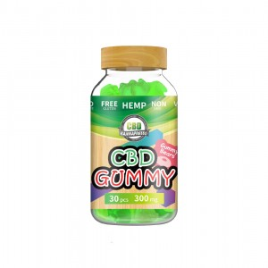 Green apple 300mg CBD gummy