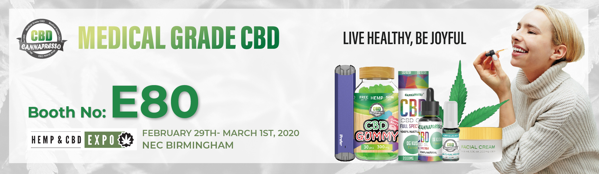 hemp and cbd expo invitation
