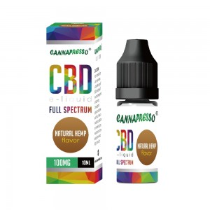 10ml Natural hemp full spectrum CBD e-liquid